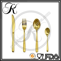copper flatware, gold cutlery, chinese cutlery