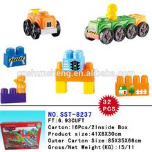 New Design Hot Items Building Blcoks Car Toys DIY Bricks Set