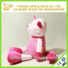 Baby toys lovely custom plush toy cat