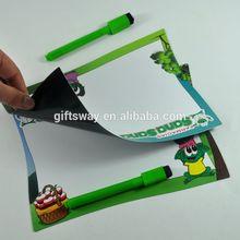 Flexible erasable pen write board , fridge magnetic board