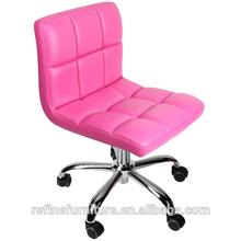 nice design professional portable pink nail salon chair RF-L006C