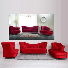 2014 de colores brillantes de cuero sofá conjunto, sofá de cuero italiano 107