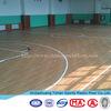 antibacterial pvc wood flooring roll used basketball Court