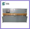 QC12Y/K 8x5000 Hydraullic Digital Display Swing Beam Shearing Machine/hand lever shearing machine