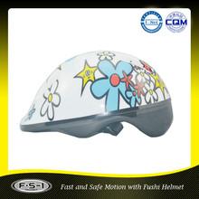 EN1078 Cartoon kids ABS Sport skate helmet (6 air ventilations)