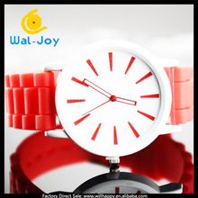 cheap custom thin jelly silicone watch (SW-1307)