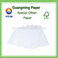 ingrosso carta di derivazione libera di legno per la stampa o la scrittura