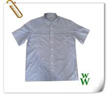 asciugatura rapida 2015 nuovo design tessuto taiwan degli uomini camicie casual