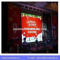 SGS rental led display p4 outdoor / EMC CE p5 outdoor rental led screen / ISO p3 outdoor led rental curtain panel