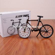 Fashion cool bike clock cheap wholesale mini model bike alarm clock
