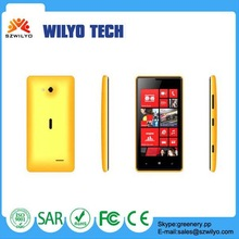 W625 4.0 inch Touch Screen Gsm Quad Bands Mobile Phone PDA with Android OS Feataure Phone