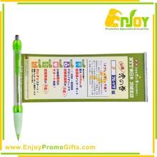 Promotional Logo Printed Banner Ball Pen