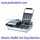 Waffle Hot Dog Machine with Double Plate/High Quality Hotdog Waffle Machine