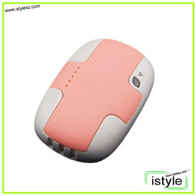 New desgin 5000mah with built-in cable power bank for iPhone 4/5, samsung, HTC Android smart phones