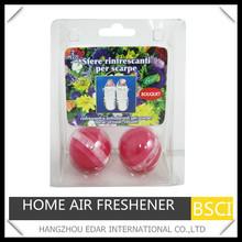 2pc balls air freshener for shoe
