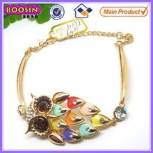 Satisfactory quality metal alloy snakeskin engraved men's bracelet&bangles #31399