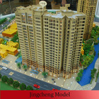 Construction residential building model/model house making