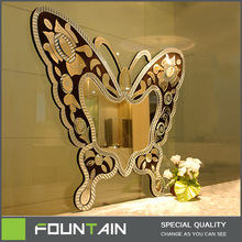 framed butterfly hand carved mirror living room wall decoration mirror bedroom fancy mirror