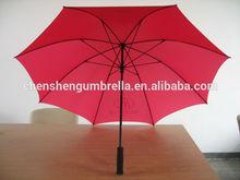 30'' EVA handle golf fiberglass umbrella