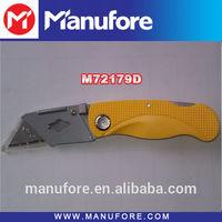 plastic foldable pocket knife survival tool