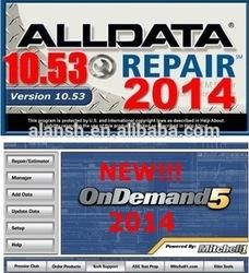 2014 fit win7 win8 Alldata 10.53+133gb Mitchell 2014Q1 Auto Repair Software For All Cars & Light Trucks 1983-2014