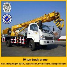 mobile hydraulic crane 10 ton , good quality 10 ton mobile hydraulic crane