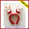 2015 new product christmas party headband christmas tree headband christmas headband with good quality