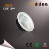 LED Residential Lighting Aluminum Silver White 15w led round spot light