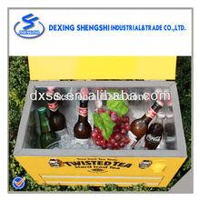 Promotional metal oil cooler for drinks