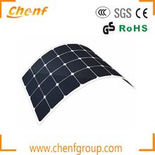 Sun power solar cells high efficiency flexible solar panel, High Quality Semi Flexible Solar Panel