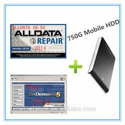 Hot!! New 2014 Alldata 10.53 + 2014 Mitchell Ondemand Auto Repair/Maintenance Software