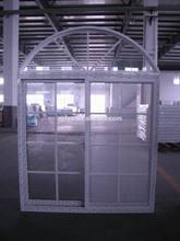 Cheap sliding aluminum window with arch window, french style windows, circle windows