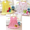 100% algodão vestido baby girl grandes vendas do bebê bonito vestido da menina 0-12 ano fret