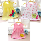 100% Cotton Girl Baby Dress Big Sales Cute Baby Girl Dress 0-12 Year Free Shipping Drop shipping