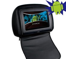 High quality 9inch Android car headrest monitor with WIFI full function