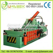 Metal scrap bailing press machine