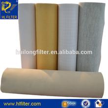 huilong supply PP PET P84 PPS PTFE Acrylic fiberglass aramid fiber felt cloth