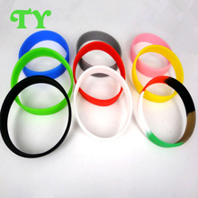 high value personalized silicone bracelets for casual lady