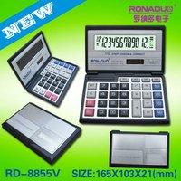 triangle ruler calculator desktop calculator CT - 8855 solar calculator
