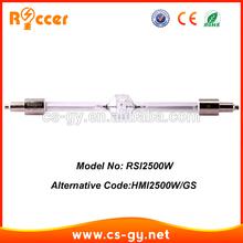 HMI 2500Watt DE HMI 2500W/GS HMI2500 double ended fllow spot light lamp bulb
