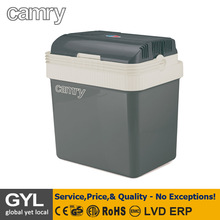 Portable cooler,Capacity 24 L;HEATING/COOLING mode switch;Large cooling chamber; Set of two power cables both for DC 12 V and