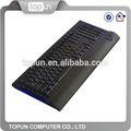 led فائقة نحيفة topun أزياء الوسائط المتعددة مع لوحة مفاتيح الألعاب مضيئة رسائل الروسية لأجهزة الكمبيوتر وأجهزة الكمبيوتر المحمولة