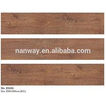 Non-slip square rustic texture wood look ceramic floor wood tile