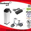 2014 high quality electric bike battery 36v 10ah electric bike li ion battery