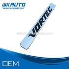2014 hot selling 3D ABS chrome VORTEC car emblems badges