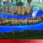 construction mock up/ Beautiful Lighting Miniature Architectural Construction Model