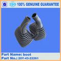 100% genuine escavadeira peças de reposição pc200-7 boot 20y-43-22261 peças oem