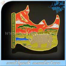 Africa animal lapel pins/animal badge/animal pin badge