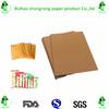food grade water proof kraft paper bag raw material pe coated kraft paper