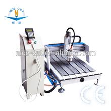 Mini/small 6090 Copper/Aluminum cnc engraving&cutting machine